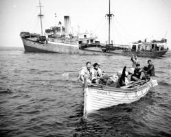 Naufraghi della The Punta22, arenatasi sulle coste delle Scilly il 22 luglio 1955