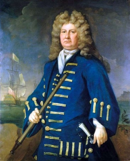 Sir Cloudesley Shovell 1650-1707