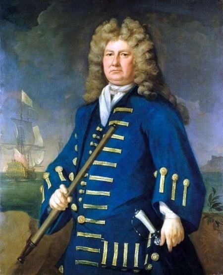 Sir Cloudesley Shovell 1650-1707