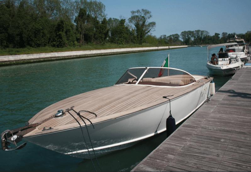 cantiere dalla piet barca classica dp 7