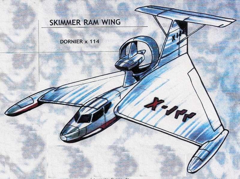 Skimmer Ram Wing Dornier x 114