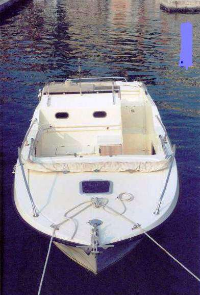 Ilver-Italmarine 25 prua