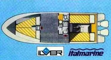 Ilver-Italmarine-vista cabine notte