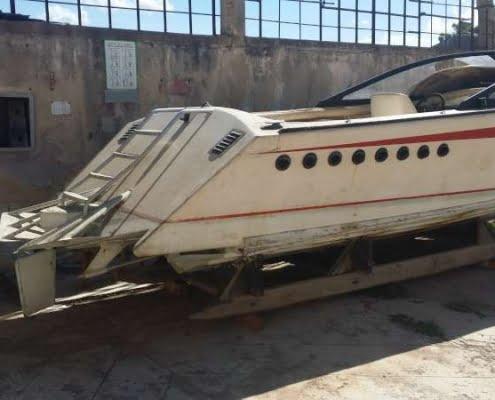 Mini Drago - Italcraft - barca classica in vendita - carena Levi