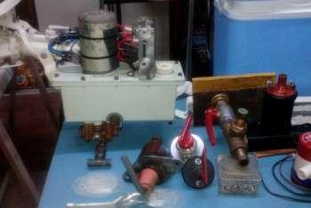 Parti elettriche e meccaniche revisionate
