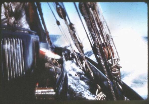 San Giuseppe Due in Antartide - armamento velico
