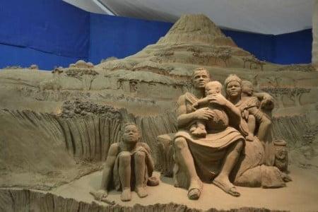 rappresentazione del Presepe di Lignano Sabbia d'Oro