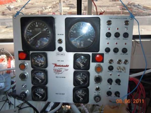 quadro elettrico motori restaurato