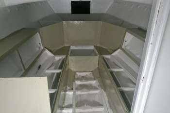 interni cabina pitturazione