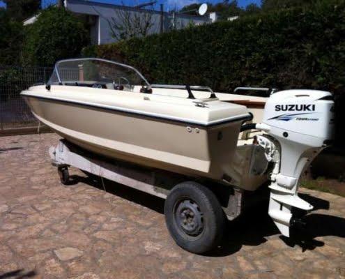 Sonny Vega 318 RO, barca d'epoca in vendita