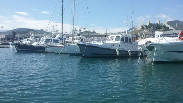 Ex motovedetta Nelson - oggi Sbirulina