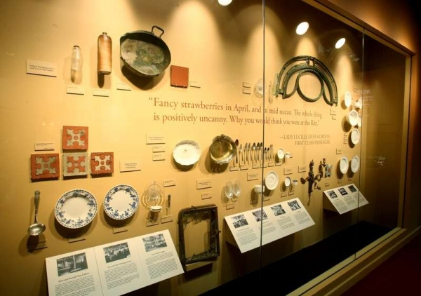 Wall of Serving Utensils, Dishes, Tiles