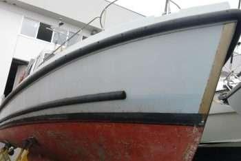 ex motovedetta Nelson vista di prua