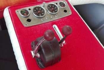 Quadro strumenti e leve Morse