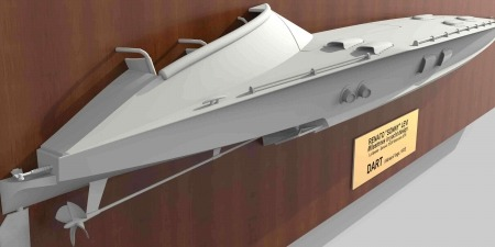 Milestone of yacht design: Stampa 3D barca Dart