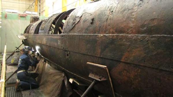 sottomarino H.L.Hunley-c