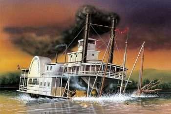 Battello a vapore Arabia - Ritorno al tempo di Via col vento di Tealdo Tealdi