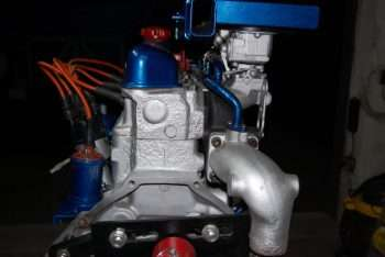 Testata - curva uscita gas di scarico