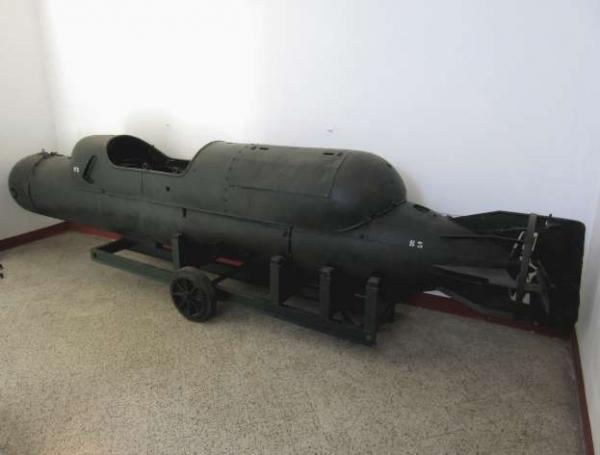 SSB N°3. Conservato presso la sala storica di Comsubin