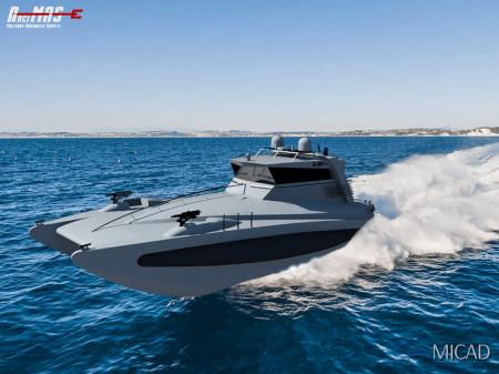 ArciMAS concept di veicolo militare ad uso navale