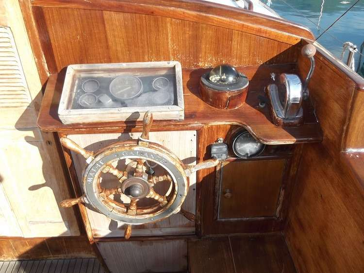 Barca a vela storica Marie Galante in vendita ad Arenzano
