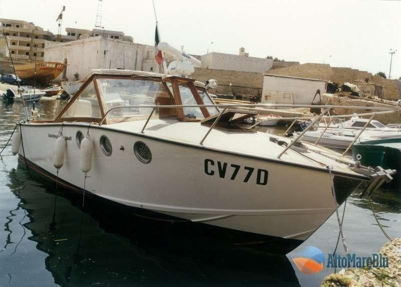 Restauro barca classica Italcraft modello Sarima: Blue Scar