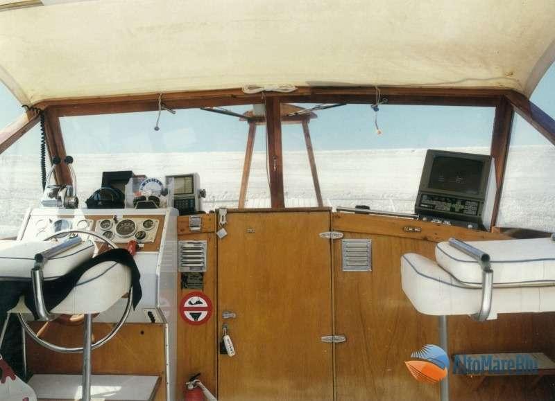 Barca classica Italcraft modello Sarima: Blue Scar