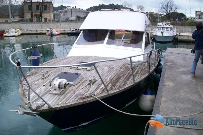 Restauro barca classica X33 Italcraft