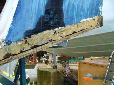 barca classica Sarima Blue Scar