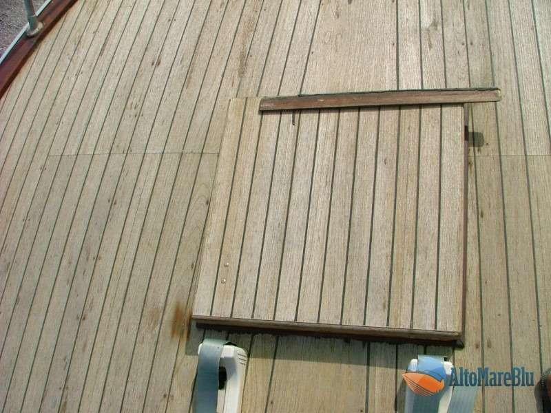 Restauro barca classica Sarima Blue Scar