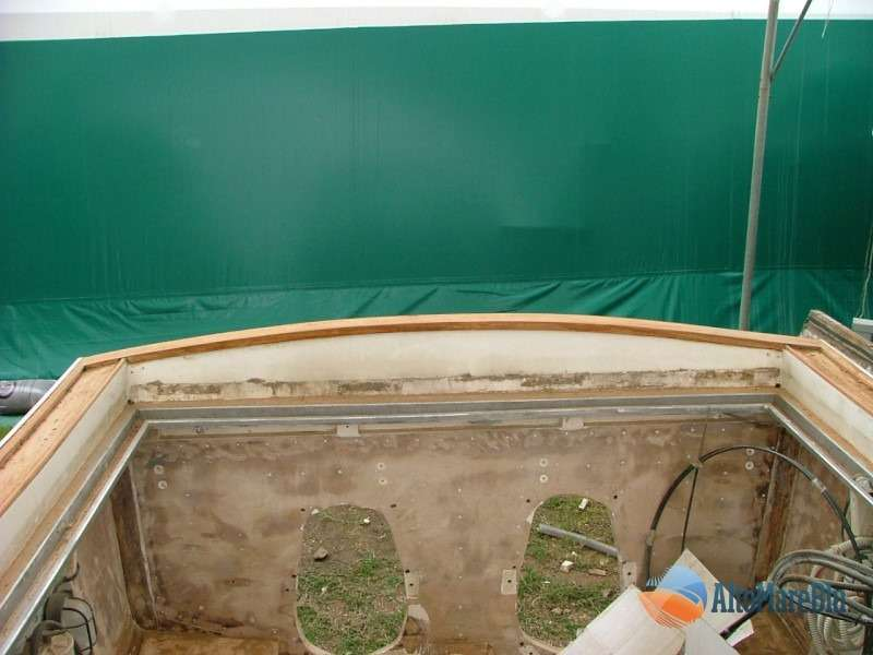 Restauro barca Sarima