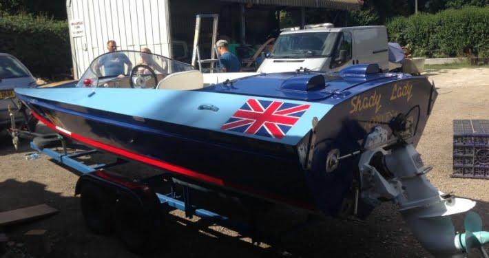 Shady Lady N.15, una barca da corsa a motore di Don Shead
