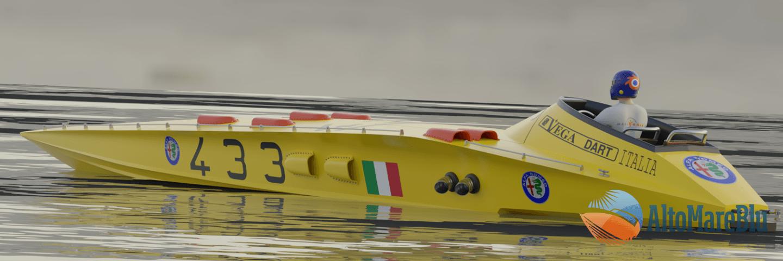 Barca Dart, cantiere VEGA