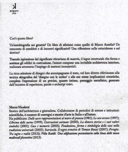 Libro Marco Nicoletti