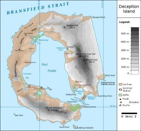Antartide Isla Deception