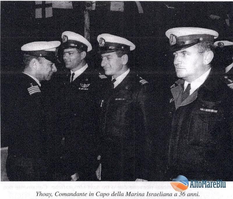 Yhoay, Comandante in Capo Marina Israeliana