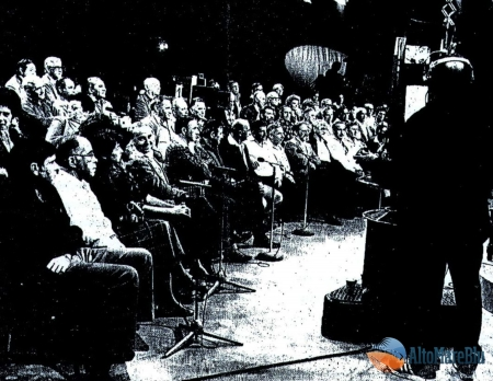 Sala di ripresa televisione Israeliana
