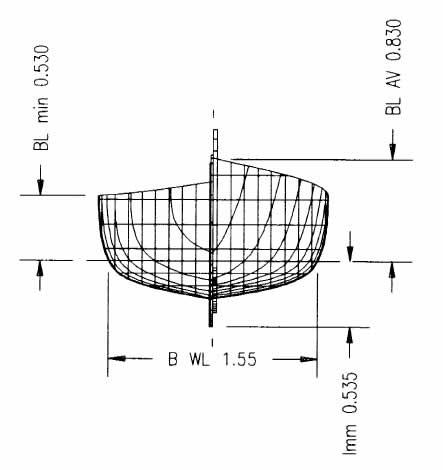 Piani di costruzione gozzo tradizionale autocostruttori for Come disegnare piani di costruzione