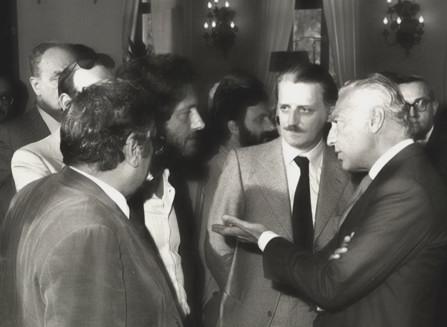 Antonio Soccol - Gianni Agnelli - Sergio-Bertino