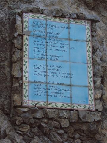 Poesia del Fiordo di Furore