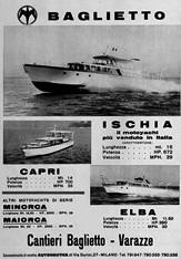 Baglietto Pubblicità 1962