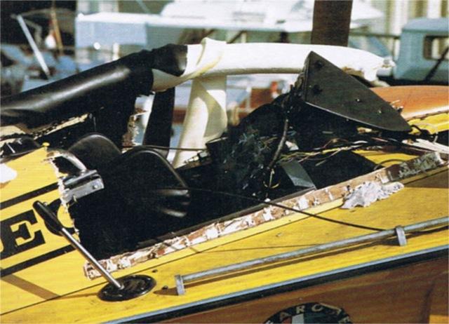 Dart effetti esplosione 1973 prove V B V