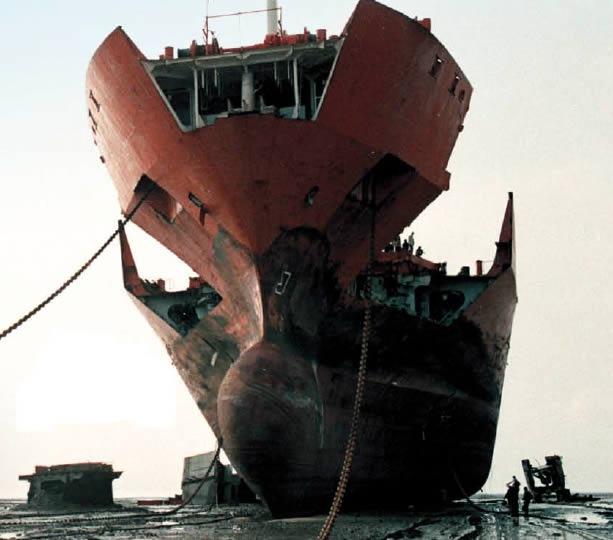 Demolizione nave India