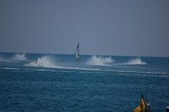 Pericolo durante la gara Offshore S.Benedetto del Tronto 2009