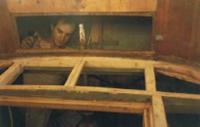 Lavori di riestauro barca in legono