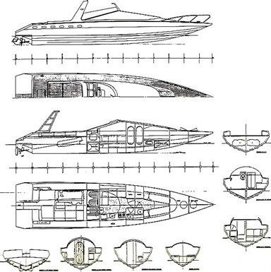 barca-f.c.155 Disegni di Sonny Levi