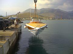 G.50 barca d'epoca Levi