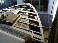 Fase di preparazione restauro per nuovo ponte