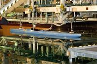 kayak in prova presso L'INSEAN