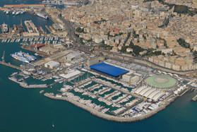 Vista area espositiva Salone della nautica 2008